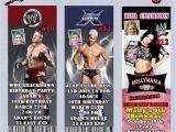 Wwe Birthday Invites Wwe Wrestling Birthday Invitation Thank You Cards or