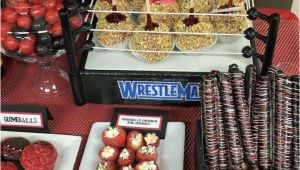 Wwe Birthday Party Decorations Wwe Birthday Party Ideas Photo 1 Of 8 Catch My Party