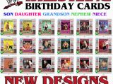 Wwe Wrestling Birthday Cards Personalised Wwe Wrestling Choose A Superstar Birthday