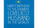 Www Birthday Cards for Husband Happy Jackson Loveliest Husband Birthday Card at John Lewis