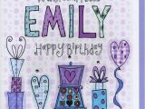 Www.happy Birthday Cards Personalised Niece Birthday Card by Claire sowden Design