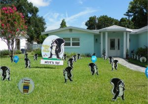 Yard Decorations For 40th Birthday Attractive Lawn Ideas The 50th