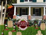 Yard Decorations for 50th Birthday 50th Birthday Yard Decoration 39 50 Fine as Wine 39 Set