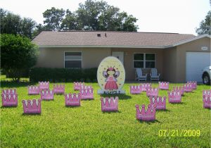 Yard Decorations For 50th Birthday Flocking Tampa Fl Call