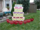 Yard Decorations for 50th Birthday Front Yard Birthday Signs Best Happy Birthday Wishes
