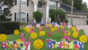 Yard Decorations for Birthdays Yard Decoration Birthday Fairy News
