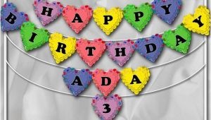 Yellow and White Happy Birthday Banner Items Similar to Diy Printable Happy Birthday Banner