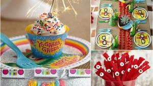 Yo Gabba Gabba Birthday Decorations Cool Yo Gabba Gabba Birthday Party Popsugar Moms