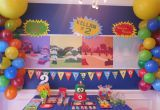 Yo Gabba Gabba Birthday Decorations Yo Gabba Gabba Party Project Nursery