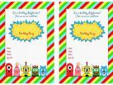 Yo Gabba Gabba Birthday Invitations Yo Gabba Gabba Birthday Invitations Birthday Printable
