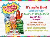 Yo Gabba Gabba Birthday Invitations Yo Gabba Gabba Birthday Invitations Dolanpedia