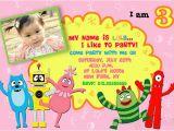Yo Gabba Gabba Birthday Invitations Yo Gabba Gabba Birthday Party Invitation Flickr Photo