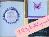 You Tube Birthday Cards Diy Birthday Card Ideas Youtube
