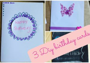 You Tube Birthday Cards Diy Card Ideas Youtube
