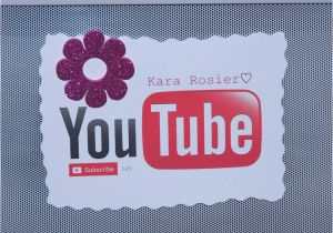 You Tube Birthday Cards Youtube Party Printables