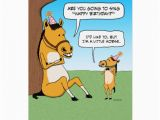 Zazzle Birthday Cards Funny Little Horse Birthday Card Zazzle