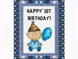 Zazzle Birthday Cards Happy 1st Birthday Card Zazzle