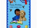 Zazzle Birthday Cards One Year Old Birthday Greeting Card Zazzle