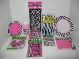 Zebra Decorations for Birthday Party Zebra Fun Zebra Passion Hot Pink Party Supplies