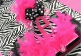 Zebra Print Birthday Party Decorations Hot Pink and Zebra Print Birthday Party Ideas Photo 1 Of