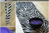 Zebra Print Birthday Party Decorations Zebra Party thoughtfully Simple