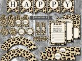 Zebra Print Decorations for A Birthday Party Diy Leopard Print Cheetah Print Birthday Party Decorations