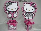 Zebra Print Decorations for A Birthday Party Hello Kitty Characters Birthday Centerpieces Decorations
