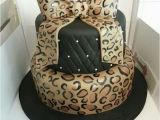 Zebra Print Decorations for A Birthday Party Leopard Print Cakes Cakes Design