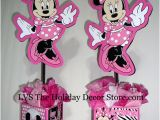 Zebra Print Decorations for A Birthday Party Minnie Mouse Personalized Centerpiece Zebra White Black De