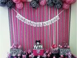 Zebra Print Decorations for A Birthday Party Pink N Zebra Stripe Candy Buffet Budget Bash Pinterest