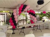 Zebra Print Decorations for A Birthday Party Zebra and Pink Party Decorations by Miami Party Balloons