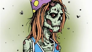 Zombie Birthday Cards Melancholy Greetings Zombie Birthday Card Blank Inside