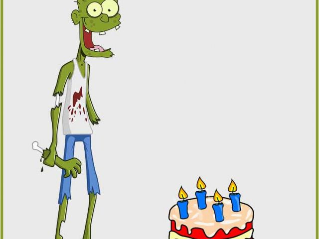 Download By SizeHandphone Tablet Desktop Original Size Back To Zombie Birthday Cards
