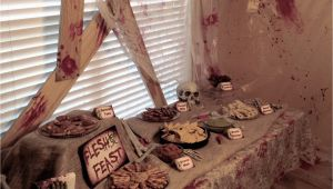 Zombie Birthday Decorations Real Party Zombie Apocalypse A Well Crafted Party