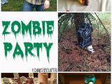 Zombie Birthday Party Decorations Zombie Party