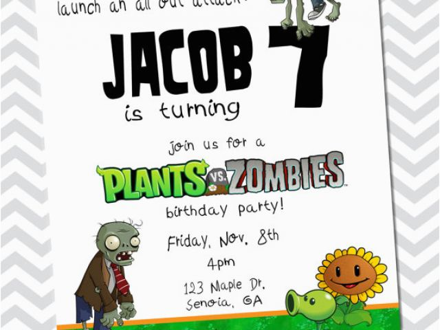 Download By SizeHandphone Tablet Desktop Original Size Back To Zombie Birthday Party Invitations
