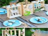 Zoo Animal Birthday Party Decorations 21 Fun June Birthday Party Ideas for Boys and Girls too