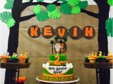 Zoo Animal Birthday Party Decorations some astonishing Diy Birthday Party Ideas for Zoo Jungle