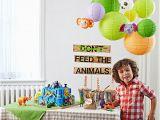 Zoo Animal Birthday Party Decorations Zoo Birthday Party