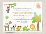 Zoo Birthday Invitations Free 10 Birthday Party Invitations Jungle Zoo Safari King Of
