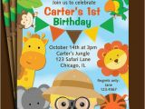 Zoo Birthday Invitations Free Animal Invitation Printable or Printed with Free Shipping