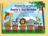 Zoo Birthday Invitations Free Animal Parade Invitation Printable or Printed with Free