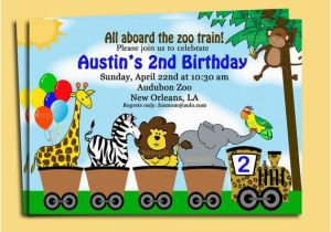 Zoo Birthday Invitations Free Animal Parade Invitation Printable Or Printed With