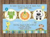 Zoo Birthday Invitations Free Boy Zoo Birthday Invitations Zoo Party Invitations