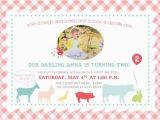 Zoo Birthday Invitations Free Petting Zoo Kids Birthday Invitation Printable by
