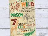 Zoo Birthday Invitations Free Zoo Birthday Invitations Jungle 1st Birthday Invitations 7th