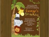 Zoo Birthday Invitations Free Zoo Birthday Invitations Template Best Template Collection