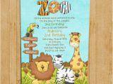 Zoo themed Birthday Party Invitations Zoo Birthday Invitation Jungle Animals Custom and
