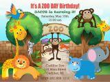 Zoo themed Birthday Party Invitations Zoo Birthday Invitations Zoo Birthday Invitations for