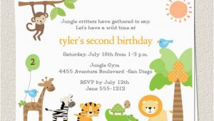 Zoo themed Birthday Party Invitations Zoo Birthday Party Invitations Bagvania Invitations Ideas